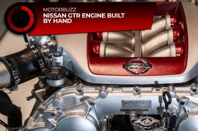 Nissan GTR engine built by hand