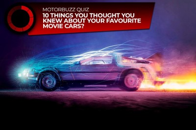Video: Top 10 Movie-Star Cars!